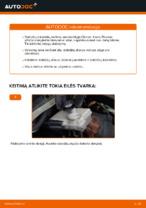 Kada reikia keisti Stabdžių diskas CITROËN XSARA PICASSO (N68): pdf vadovas
