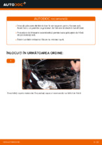 Schimbare Placute Frana VW TOURAN: manual de intretinere si reparatii