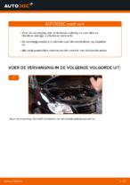 Hoe de voorste remblokken van schijfremmen vervangen op VW Touran 1T1 1T2