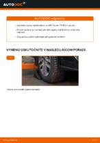 Kedy meniť Vzpera stabilizátora VW TOURAN (1T1, 1T2): pdf príručka