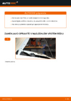 Menjava Oljni filter FIAT DOBLO: spletni vodič