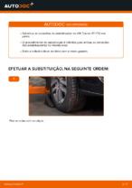 Instalação Pendural da barra estabilizadora VW TOURAN (1T1, 1T2) - tutorial passo-a-passo