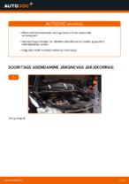 VW tagumine ja eesmine Amort vahetamine DIY - online käsiraamatute pdf