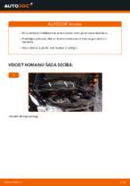 VW TOURAN (1T1, 1T2) Amortizators uzstādīšana - soli-pa-solim pamācības