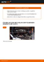 Einbau von Stoßdämpfer Satz beim VW TOURAN (1T1, 1T2) - Schritt für Schritt Anweisung