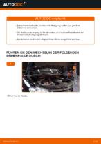 Wie ersetze ich ein vorderes Federbein beim VW Touran 1T1 1T2