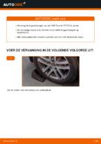 Hoe Koppelstang vervangen en installeren VW TOURAN: pdf tutorial