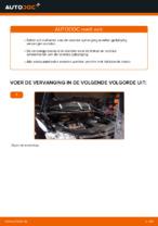 Schroefveren VW TOURAN (1T1, 1T2) monteren - stap-voor-stap tutorial