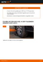 Hinweise des Automechanikers zum Wechseln von VW Touran 1t1 1t2 2.0 TDI 16V Stoßdämpfer