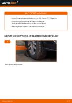 Manuel PDF til vedligeholdelse af TOURAN