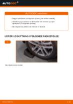 Trin-for-trin reparationsvejledning til VW Touran 5t