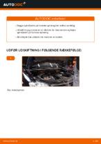 Hvordan man udskifter ophængsfjedre i for på VW Touran 1T1 1T2
