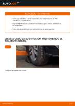 Cambio Travesaños barras estabilizador delantera y trasera VW TOURAN: tutorial en línea