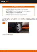Guía de reparación paso a paso para FIAT DOBLO Box Body / Estate (263)