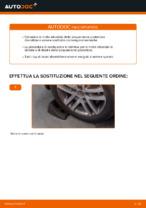 Come sostituire le molle della sospensione posteriore su VW Touran 1T1 1T2