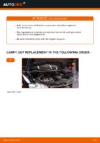 Replacing Shock Absorber VW TOURAN: free pdf