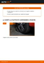 A Gumiharang Készlet Kormányzás cseréjének barkácsolási útmutatója a PEUGEOT 107-on