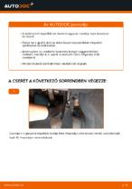 Utastér levegőszűrő cseréje: pdf útmutatók VOLVO V50