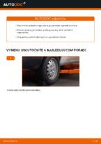 Montáž Tlmiče perovania FIAT DOBLO Cargo (223) - krok za krokom príručky