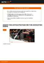 Πώς αλλαγη και ρυθμιζω Αμορτισέρ FIAT DOBLO: οδηγός pdf