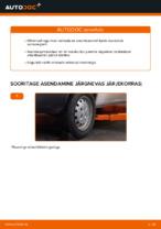Automehaaniku soovitused, selleks et vahetada välja FIAT Fiat Doblo Cargo 1.3 D Multijet Roolivardapea