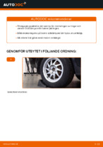 bak och fram Fjäderbenslagring och fjäderbenslager FORD MONDEO | PDF instruktioner för utbyte