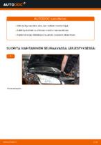Kuinka vaihtaa moottoriöljyt ja öljynsuodatin Ford Focus 2 DA malliin