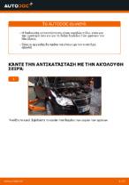 Πώς αντικαθιστούμε πισινή δαγκάνα των φρένων σε VW Touran 1T1 1T2