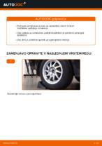Kako zamenjati nastavek zadnjega blažilnika na Ford Focus 2 DA