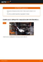 Kako zamenjati zadnje zavorne čeljusti na VW Touran 1T1 1T2