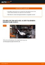 Wie Bremszange hinten links beim VW TOURAN (1T1, 1T2) wechseln - Handbuch online
