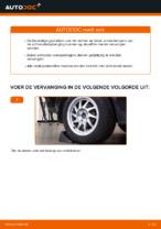 Hoe een schokdemperbevestiging van een Ford Focus 2 DA vervangen