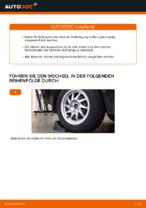 Wie Sie die hintere Aufhängung der Stoßdämpfer am Ford Focus 2 DA ersetzen