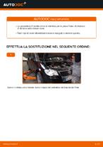 Come sostituire la pinza posteriore del freno su VW Touran 1T1 1T2