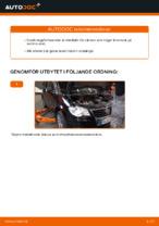 Manuell PDF för TOURAN underhåll