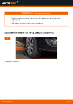Laga Länkarm VW TOURAN: verkstadshandbok