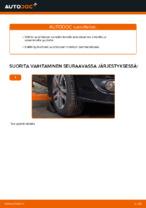 VW TOURAN Alatukivarsi vaihto: ohjekirja
