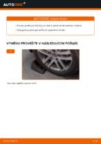 Jak vyměnit levý a pravý Řídící páka zavěšení kol VW udělej si sám - online návody pdf
