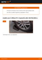 Zamenjavo Vilica VW TOURAN: brezplačen pdf