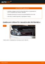 Vgraditi Zavorne Ploščice VW GOLF VI (5K1) - priročniki po korakih