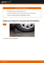 Avtomehanična priporočil za zamenjavo FORD Ford Fiesta V jh jd 1.4 16V Kolesni lezaj