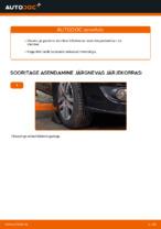 Automehaaniku soovitused, selleks et vahetada välja VW Touran 1t1 1t2 2.0 TDI 16V Soonrihm