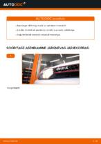 Kuidas vahetada mootoriõli ja filtrit autol VOLKSWAGEN GOLF VI (5K1)