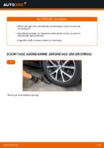 VW TOURAN Vedrustus vahetus: tasuta pdf