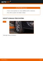 Kā nomainīt priekšējās neatkarīgās balstiekārtas apakšējo sviru VW Touran 1T1 1T2