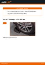 Kā nomainīt aizmugurējās neatkarīgās balstiekārtas augšējo sviru VW Touran 1T1 1T2