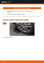 Automechanikų rekomendacijos VW Touran 1t1 1t2 2.0 TDI 16V Stabdžių Kaladėlės keitimui