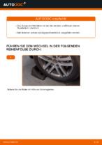 Wie Motorhalterung hinten links beim VW TOURAN (1T1, 1T2) wechseln - Handbuch online
