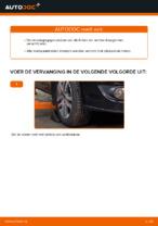 Hoe Draagarm wielophanging vervangen en installeren VW TOURAN: pdf tutorial