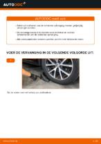 Veren vervangen VW TOURAN: werkplaatshandboek